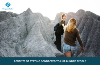 Benefits of staying connected to like-minded people